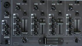 Audio mixer detail royalty free stock photo