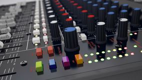 Audio Mixer Stock Photography
