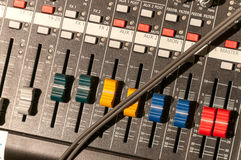 Audio mixer Stock Photography