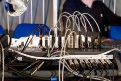 Audio Mixing Board Royalty Free Stock Photo