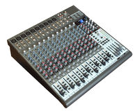 Audio mixing board Royalty Free Stock Photography