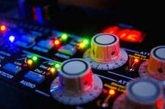Free Audio Mixing Console Stock Photography - 12193682