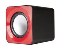 Audio music speaker isolated on white Stock Image