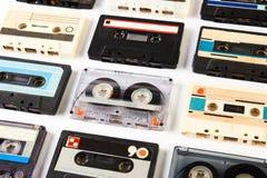 Audio nastro a cassetta d'annata Fotografia Stock Libera da Diritti