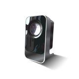Audio oggetto isolato dello speacker del realistick Fotografia Stock Libera da Diritti