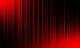 Audio onde sonore dell'equalizzatore digitale rosso su fondo nero, fotografia stock libera da diritti