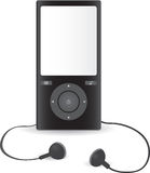 Audio player icon Stock Photo
