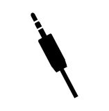 Audio plug connector icon Royalty Free Stock Photo