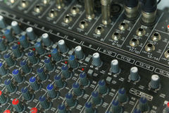 Audio production switcher Royalty Free Stock Photos