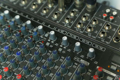 Audio production switcher Royalty Free Stock Images