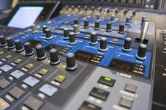 Audio produkci Switcher telewizi transmisja fotografia royalty free