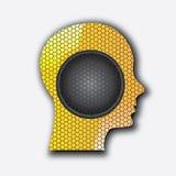 Audio profile Stock Images