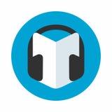 Audio przewdonik ikona Zdjęcia Royalty Free