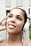 Audio radość Zdjęcie Stock