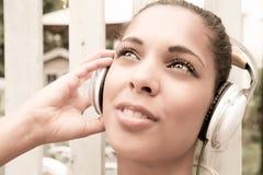 Audio radość Fotografia Stock