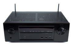 Audio receiver, isolate on a white background, studio Stock Photos
