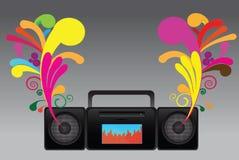 Audio recoder Stock Image