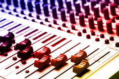 Audio Recording Equipment Stock Photography