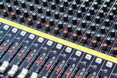 Audio recording studio Stock Image