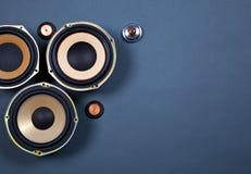 Audio Rozsądni mówcy Inkasowi Obrazy Royalty Free