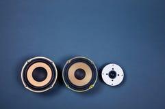 Audio Rozsądni mówcy Inkasowi Zdjęcia Stock