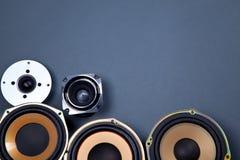 Audio Rozsądni mówcy Inkasowi Obrazy Stock