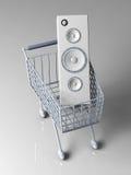 Audio Shopping Stock Photos