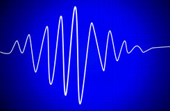 Audio signal Royalty Free Stock Photography