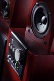 Audio sistema Fotografia Stock Libera da Diritti