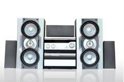 Audio sistema acustico Fotografia Stock