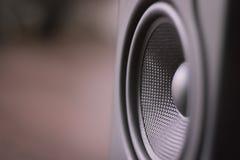 Audio sistema dello studio del monitor di musica Fotografia Stock Libera da Diritti