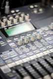 Audio sound desk Stock Photos