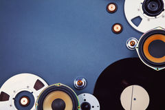 Audio Sound Media Objects Collection Set Royalty Free Stock Image