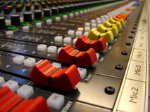 Audio sound mixer Stock Photos