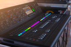 Sound engineer Royalty Free Stock Images