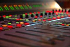 Audio Sound Mixer Stock Photos
