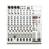 Audio Mixer console isolated. Royalty Free Stock Photos