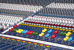 Audio Sound Mixer Royalty Free Stock Photos