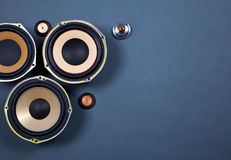 Audio Sound Speakers Collection Royalty Free Stock Images