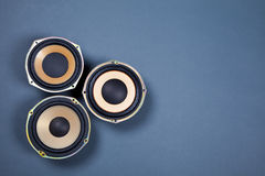 Audio Sound Speakers Collection Royalty Free Stock Photo