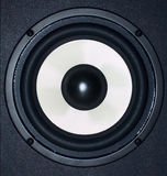 Audio speaker. Perfect to use as a background Stock Photography