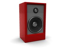 Audio speaker Royalty Free Stock Photos