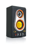 Audio Speaker And MP3-player Royalty Free Stock Images