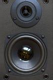 Audio speaker close-up Stock Photography
