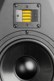 Audio speaker, closeup view Royalty Free Stock Photo