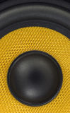 Audio Speaker Detail Background. Audio Speaker Cone Detail Background Photo Royalty Free Stock Photo