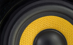 Audio Speaker Detail Background. Audio Speaker Cone Detail Background Photo Royalty Free Stock Photos
