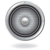 Audio speaker icon Royalty Free Stock Images
