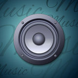 Audio speaker icon Stock Images