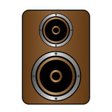 Audio speaker icon Royalty Free Stock Images